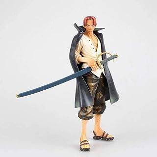 Verkligt och roligt Leksaker en bit shanks stående hållning röd hår trasig arm bärande vapen fyra kungar dominerandehand m...