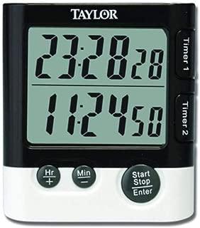 (Pack of 6) Taylor Dual DGTL Timer/Clock
