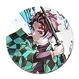 Ailin Online Broche de Demon Slayer: Kimetsu no Yaiba Brooch, Anime Kawaii Broche para ropa, bolsos, gorras y estuches (estilo 33)