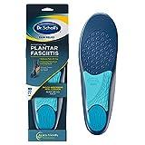 Dr. Scholl's 011017569671 Alivio del dolor Orthotics Plantillas para fascitis plantar para hombres, 1 par, tamaño 8-13