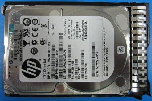HP 653954-001 - 653954-001 1TB 7.2K 6G SFF SAS SC Hard Drive