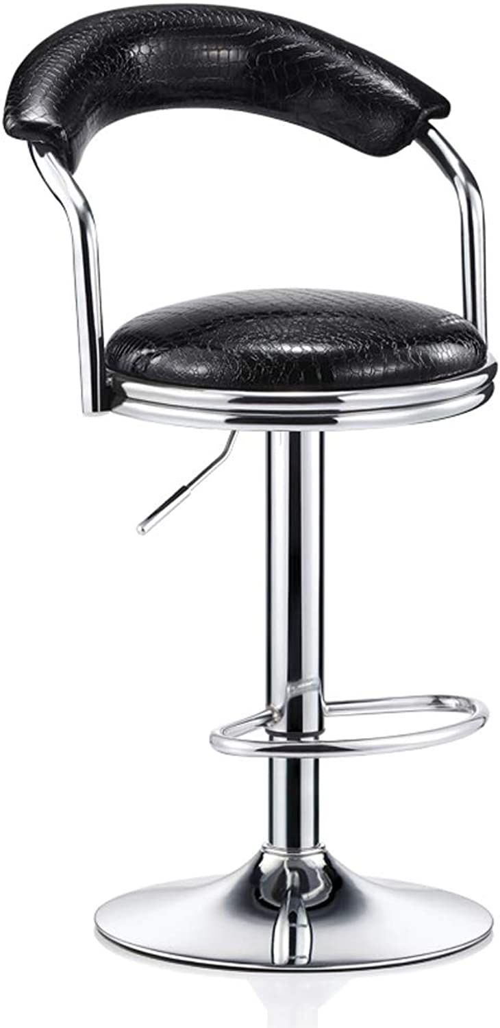 Bar Chair redary Chair High Stool, Modern Minimalist Bar Back Home Front Desk Bar Chair Stool