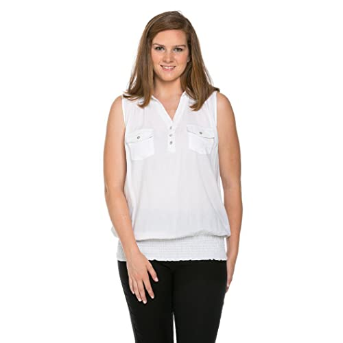 7bf3ddb95a8318 My Yuccie Women s Comfy Sleeveless Blouses Top Plus Size
