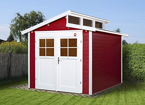 weka Gartenhaus 226 Gr.2, schwedenrot, 21 mm