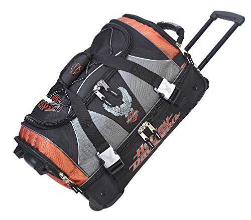 Harley Davidson 21' Carry-on W/Organizer, Rust/Black