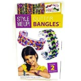 Style Me Up - Creative Bangle Craft Set for Girls, DIY Bracelet Kit for Teens with Rhinestones and Threads - SMU-553