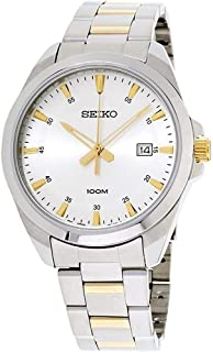 Seiko Silver Dial Stainless Steel Ladies Watch SUR211