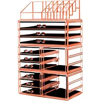 HBlife Acrylic Cosmetic Storage Drawers and Jewelry Display Box