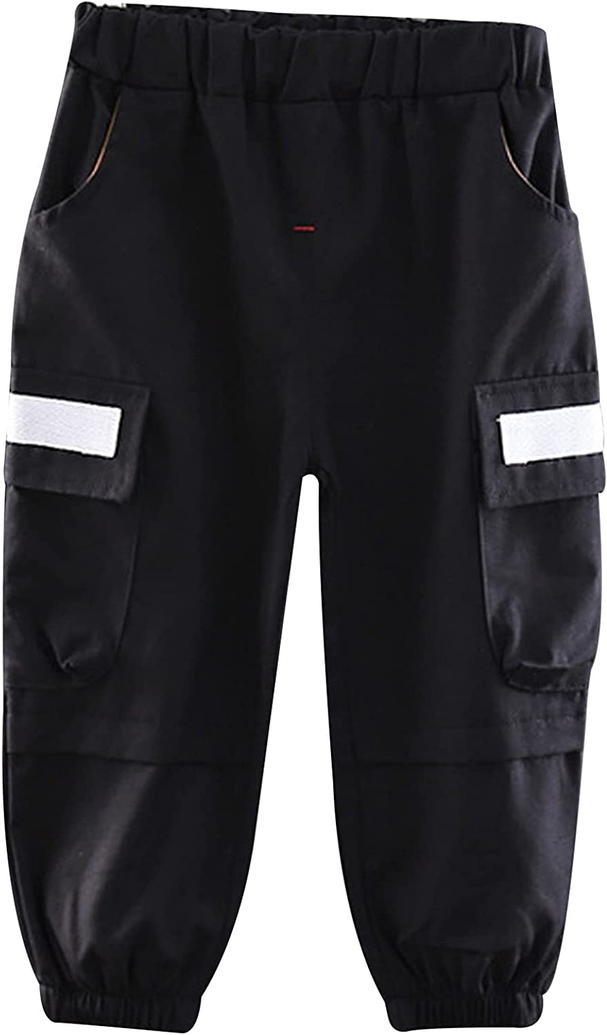 Loloda Toddler Baby Boys Chino Cargo Jogger Pants Pockets wholesale C New color Side