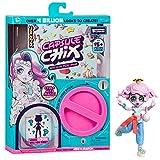Capsule Chix Build Your Own Surprise Fashion Doll - Muñeca mágica con máquina de cápsulas, para desboxear y Mezclar y Combinar Modas y Accesorios, Multicolor