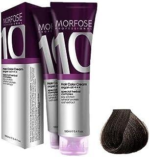 Morfose 10 Professional Hair Colour Cream 100 ml, No. 6.3 Dark Auburn Dore