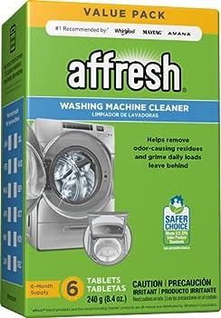 Affresh Washer Machine Cleaner Whiite  6-Tablets 8.4 oz - W10501250