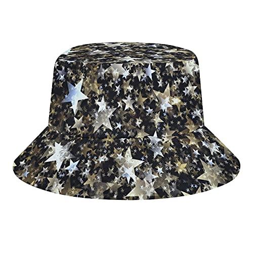 MEITD Sombrero unisex de verano sombrero de playa sombrero de sol para al aire libre amarillo azul y rosa flores, Blanco-estilo11, 7/7 1/8