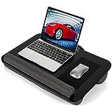 AMERIERGO Lap Desk - Fits Up to 17 Inch Laptop Lap Desk with Dual Cushion, Wrist Rest & Built-in...