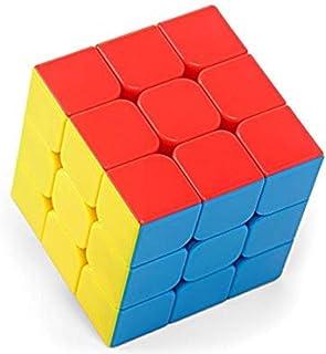 Speed stickerless rubik cube smooth and fast turnin