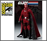 2009 SDCC Comic Con Sideshow G.I.Joe Crimson Cobra Commander 12' Figure