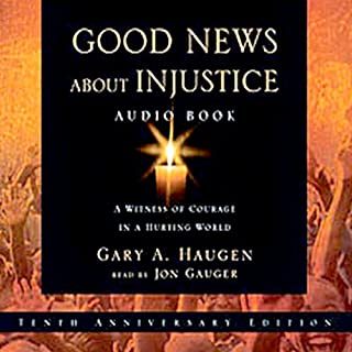 Good News About Injustice audiobook cover art