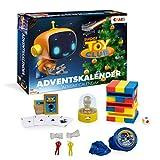 CRAZE 20289 Adventskalender Super Toy Club Weihnachtskalender für Mädchen Jungen Spielzeugkalender, Kreative Inhalte