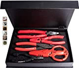 VamPLIERS! World's Best Pliers Set, Screw Extraction Pliers Makes the Best Gift BEST PLIERS EVER for Damage/Rusted/ (S5AGS-5-PC) Black Friday Cyber Monday Week Deal, Make the Best Gift