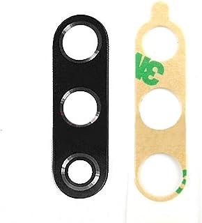 غطاء عدسات زجاجية خلفية من جينتاي مع قطعة بديلة لاصقة لهاتف شاومي مي CC9 مي A3