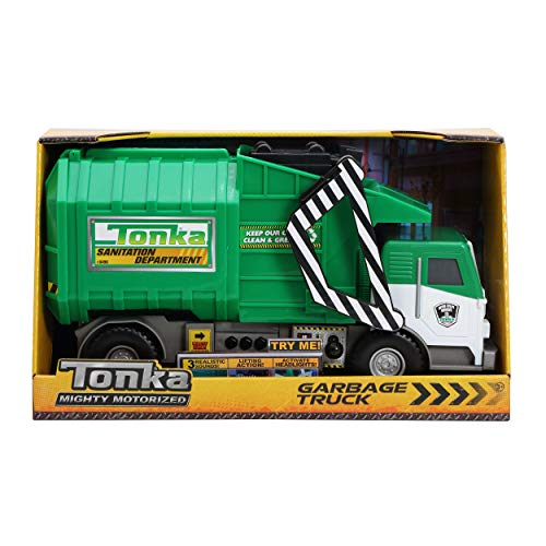 Tonka Funrise Toy Mighty Motorized Garbage Truck