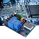Módulo inteligente de control de la batería DC 6-60V ahorro de energía XH-M604 Control de carga de batería Cargador de batería Protección de energía solar Generador de viento para el cargador casero