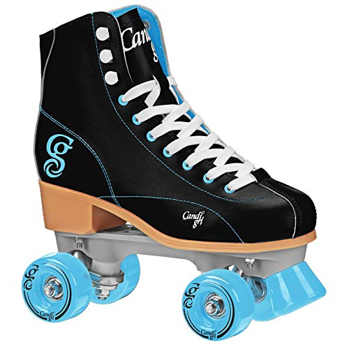 Patins Quad Roller Derby Candi Girl Sabina, Preto, 8 USA