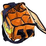 JFA Medical Orange Haversack - Borsa di pronto soccorso di emergenza con tasca frontale, vuota