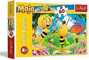 Trefl 17330 Puzzle una Flor para Maya, 60 Piezas, para niños a Partir de 4 años