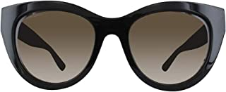 Jimmy Choo Butterfly Sunglasses For Women - Brown, Chana-S 807, 52