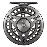 Goture Fly Fishing Reel Super Lightweight CNC Machined Aluminum Alloy Body Best 4wt 7wt Fly Fishing Gear Gifts Smooth Drag Large Abor Sealed Drag Weights Large Arbor Freshwater Or Saltwater