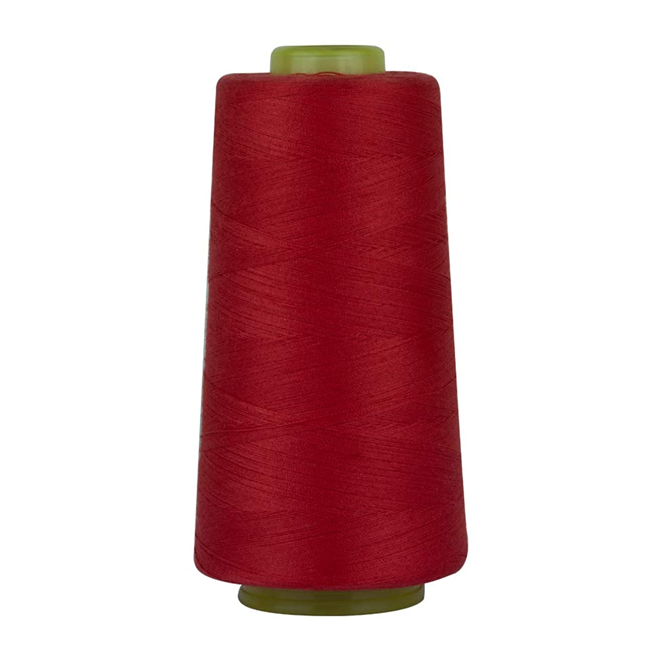 RCL 100% Polyester Sewing Thread Spools - 3000 Yards/1 Spool of Yarn, 40/2 All-Purpose Connecting Threads for Sewing Machine and Hand Repair Works (Red)
