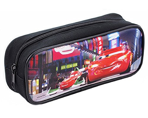 Cars Cloth Pencil Case Pencil Box - Black