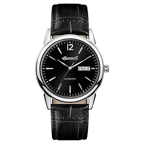Ingersoll Herren Analog Automatik Uhr mit Leder Armband I00502