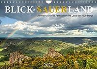 Blick ins Sauerland (Wandkalender 2022 DIN A4 quer): Atemberaubende Fernsichten ins Land der 1000 Berge (Monatskalender, 14 Seiten )