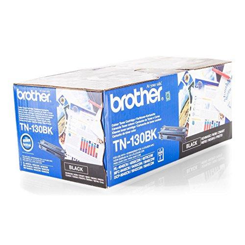 Brother Original TN-130BK /, für MFC-9840 CDW Premium Drucker-Kartusche, Schwarz, 2500 Seiten