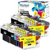Hallolux LC3219XL Compatible Cartuchos de Tinta para Brother LC3219 LC3217 LC-3219XL para Brother MFC-J5330DW MFC-J5335DW MFC-J5730DW MFC-J6530DW MFC-J6930DW MFC-J5930DW MFC-J6935DW (10 Pack)