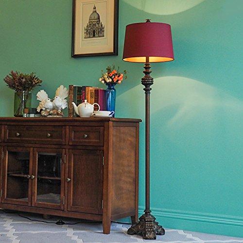 Vloerlamp vloerlamp, klassieke slaapkamer woonkamer verticaal licht LED
