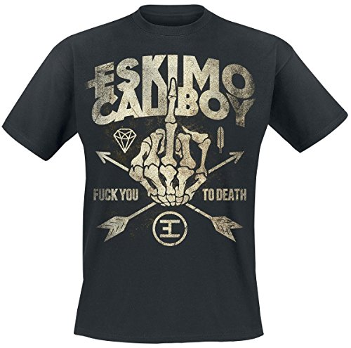 Eskimo Callboy Fuck You To Death T-Shirt schwarz S