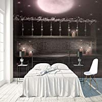 3D巨大な壁紙 美しい夜空 壁紙壁画 DIY不織布壁紙壁画HD印刷アートカスタマイズ可能なサイズのリビングルーム 寝室 の家の装飾 350X250cm (137X98inch)