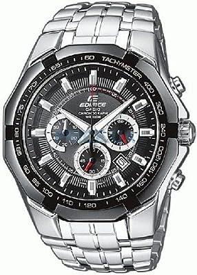 Casio Edifice – Reloj Hombre Analógico con Correa de Acero Macizo – EF-540D