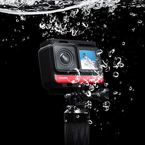 Insta360 One R Cámara de Acción Deportiva Adaptativa Control de Voz IPX8 Impermeable (360+4K) Twin Edition