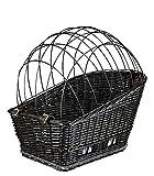 Trixie 13117 Fahrradkorb mit Gitter für Gepäckträger, 35 x 49 x 55 cm, schwarz - 4