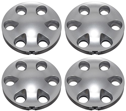 BB Auto New Set of 4 Wheel Hub Center Caps Silver Replacement for 2000-2004 Toyota Tundra Tacoma Sequoia
