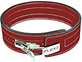 FlexzFitness Lever Weight Lifting Belt for Men & Women Lower Back Support for Weightlifting