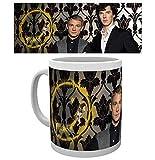 GB Eye Sherlock, Smiley Mug, Multi-Colour