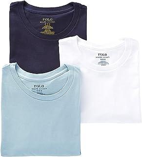 Ralph Lauren Polo Classic Fit Cotton T-Shirt 3-Pack
