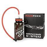 Trink System mit 2 Schläuchen, Trinkstück Click Anschluß, Flasche, Sportflasche,...