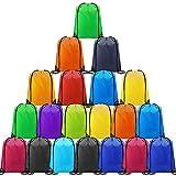 CHEPULA Drawstring Backpack Bags Cinch Sacks String Portable Backpack for School,Travel,Sports&Storage