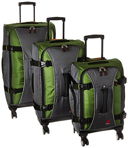 Best Prices! Athalon Hybrid Spinners Luggage 3 Pc Set, Grass Green/gray, One Size